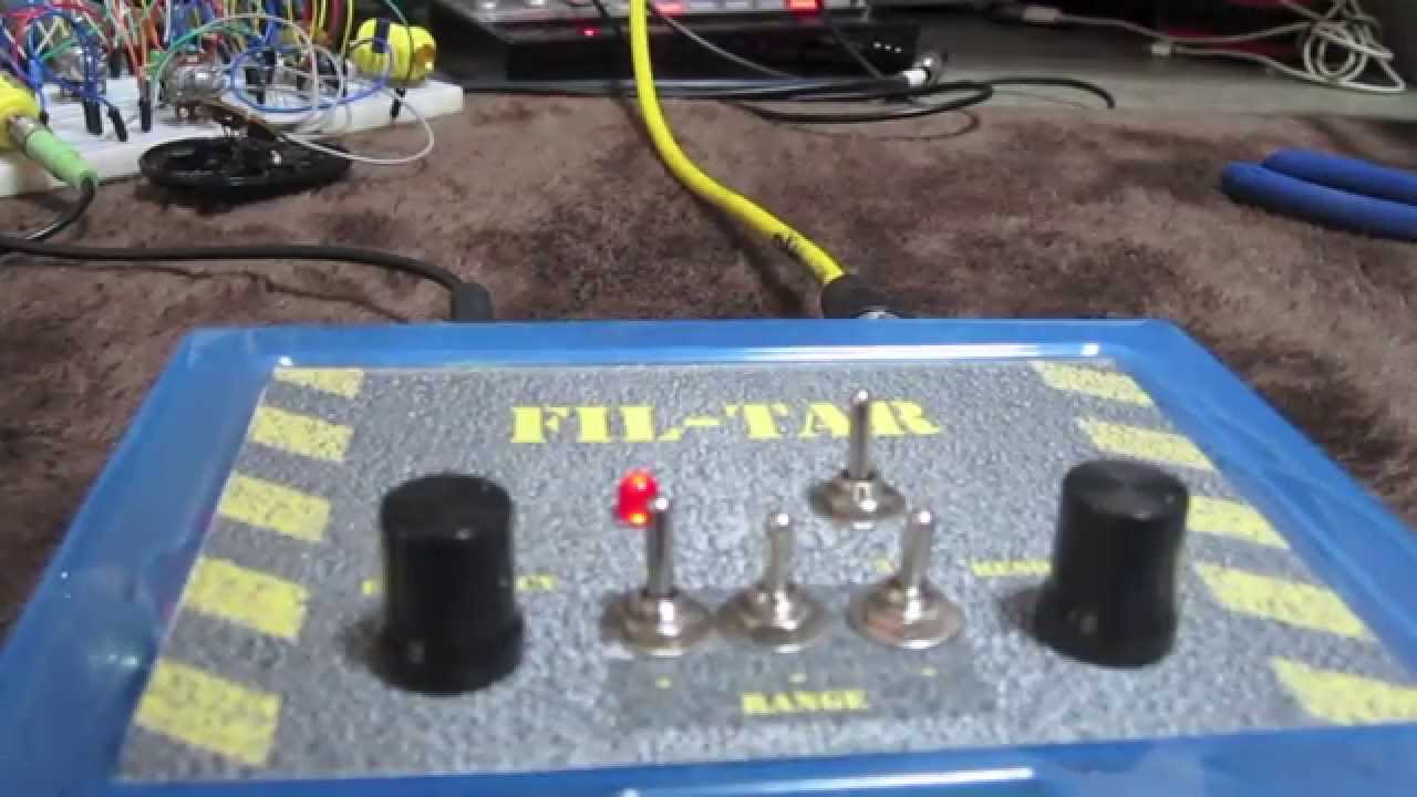 Super Simple Diy Drive Fuzz Low Pass Filter Youtube For Fm 88 108 Mhz