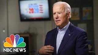 Full Biden: I Would Be 'Most Progressive' President In  History   Meet The Press   NBC News