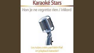 Milord (Karaoke)