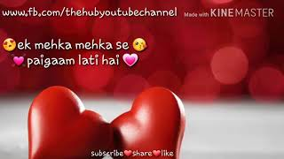 Mein saans leti hu | romantic WhatsApp status