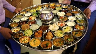 India's Biggest Veg Thali  | 14 KG BHIM Thali Platter with 54 items | Indian Street Food