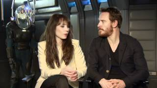 Michael Fassbender And Noomi Rapace Interview