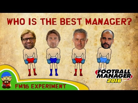FM 16 Experiment - Who is the best manager in the Premier League? Football Manager decides