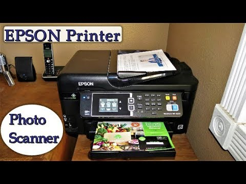 Epson Printer - Discover How To Scan & Copy A Photo Or Document - High  Quality