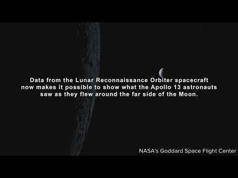 Video: Stunning views of the Moon seen by Apollo 13 astronauts - 10News WTSP