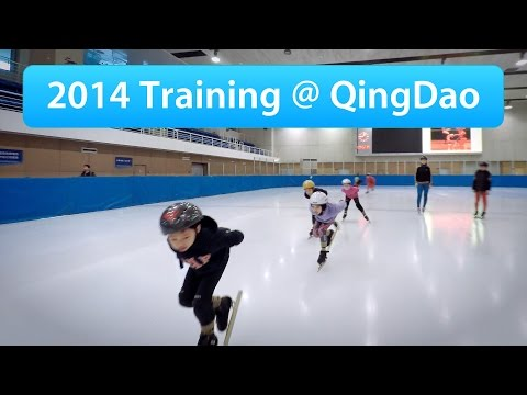 2014 Training at QingDao (Singapore Short Track Speed Skating Junior)