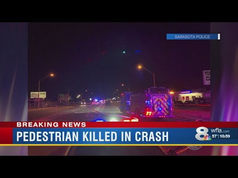 Pedestrian Fatally Struck By Vehicle In Sarasota, Police Say