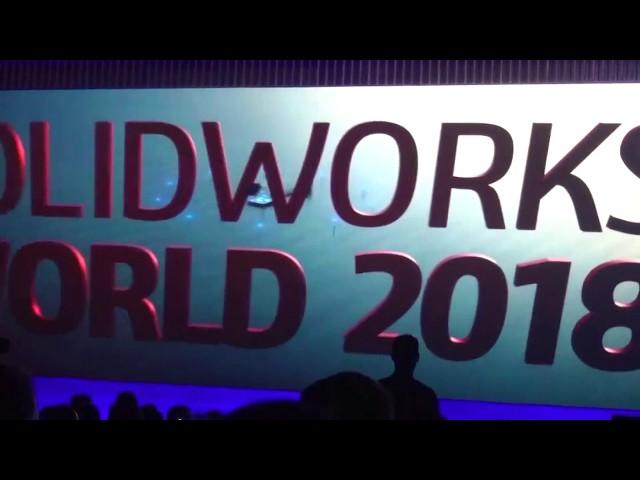 Viel Applaus für Solidworks 2019 auf der Solidworks World 2018 - Teil 2