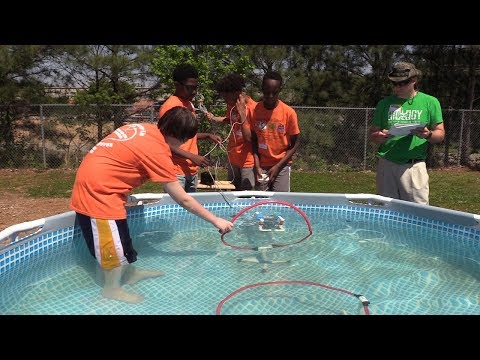 SeaPerch and Drone Competition at Barber Middle School