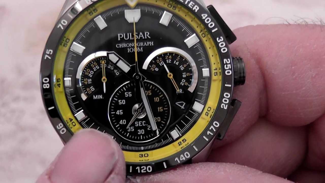 Pulsar World Rally Championship Chronograph Watch Model Pu2007x1