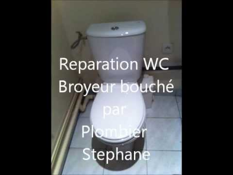 debouchage wc broyeur par plombier stephane youtube