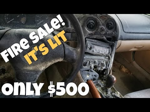 Fire damaged Miata for $500! Should it be the new rebuild project?