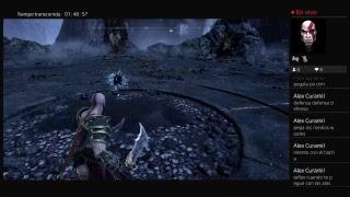 God of war 4 matando reina valkiria en vivo