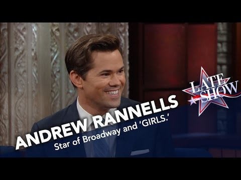 Andrew Rannells: Girls? More Like 'Golden Girls'