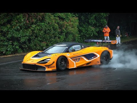 The BEST & WORST of Racing Cars PowerSlides in the rain!