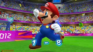Mario and Sonic at the London 2012 Olympic Games #Football( 2 player)