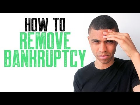 how-to-remove-bankruptcy-||-removing-bankruptcy-from-credit-report-early