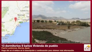 13 dormitorios 9 baños Vivienda de pueblo se Vende en Puerto Lumbreras, Murcia, Spain