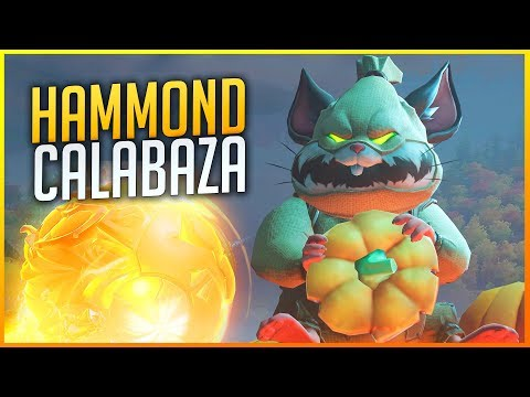 OVERWATCH: HAMMOND CALABAZA MACHACANDO! | Makina