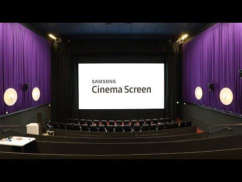 Samsung : un Ecran Cinéma DIRECT LED HDR 4K de 10 mètres !