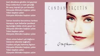 Candan Erçetin - Yalan (Orijinal Karaoke)