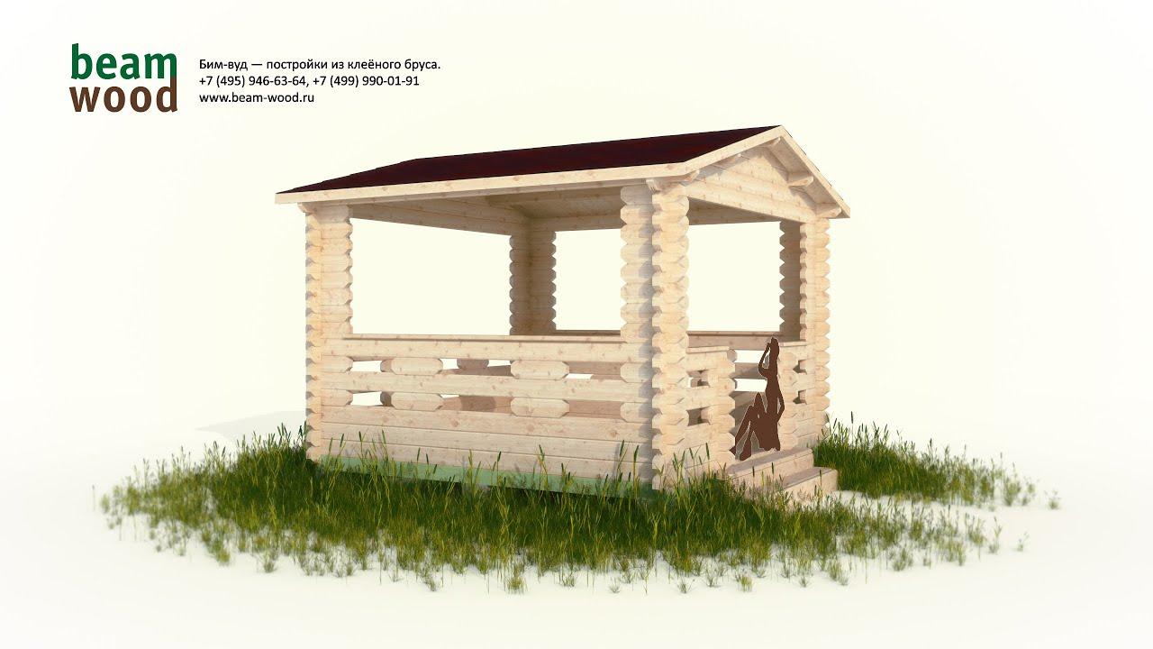 Вас интересуют готовые деревянные дома из профилированного бруса?. Выбираете проект дома из бруса?. Мы уже. Цена: 245 000 руб.