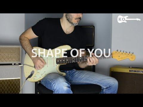 Ed Sheeran - Shape Of You - Electric Guitar Cover by Kfir Ochaion