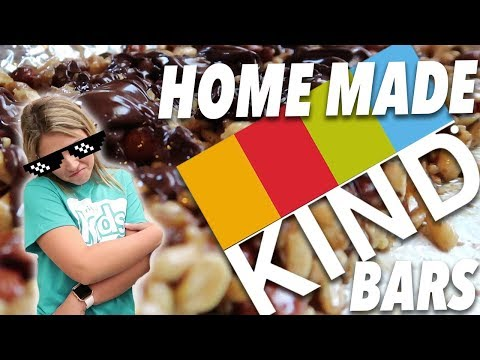 HOMEMADE KIND bar recipe / Rest Day Vibes