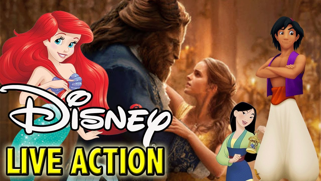 All Upcoming Disney Live Action Movies   Little Mermaid ...