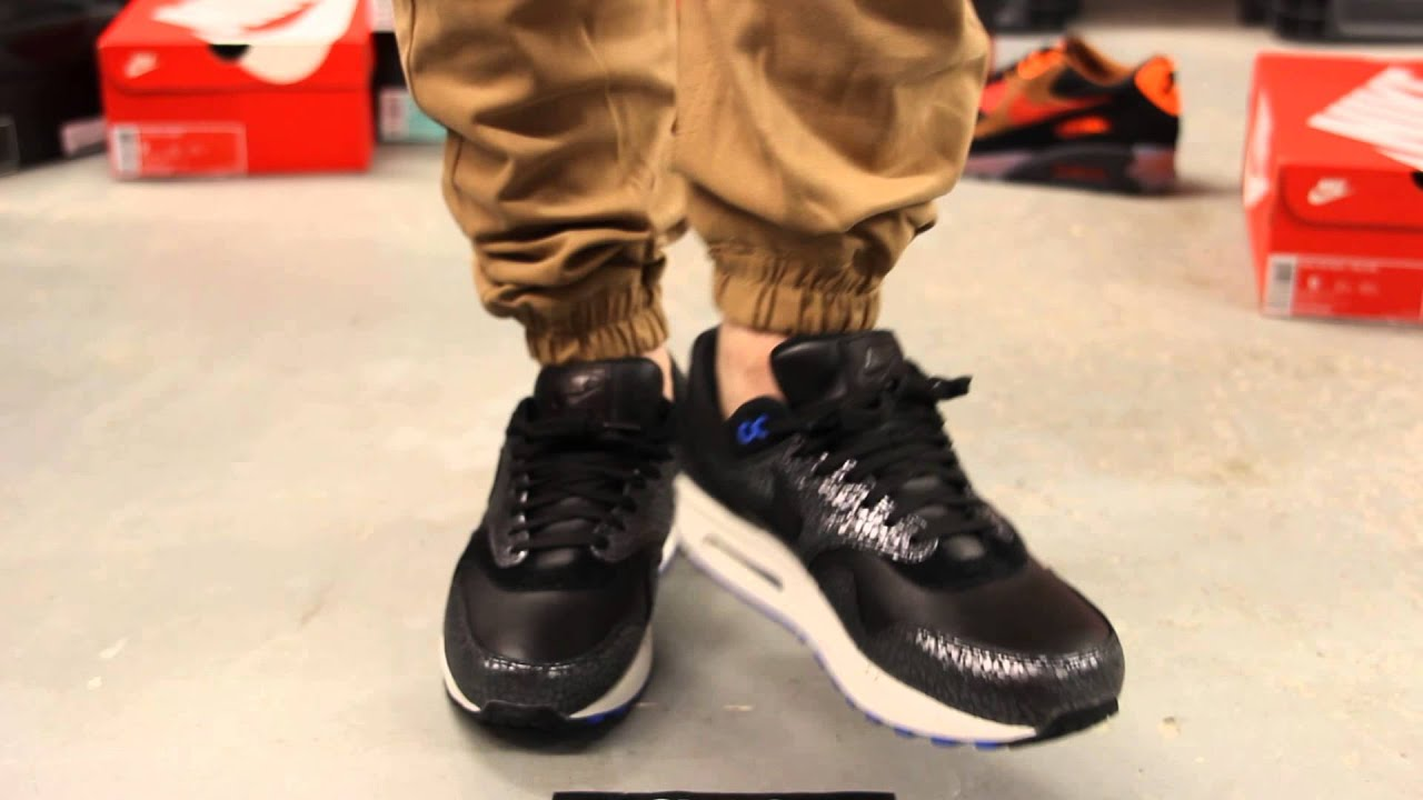 a804f49ac13dd ... discount code for nike air max 1 deluxe safari on feet video at exclucity  youtube a1936