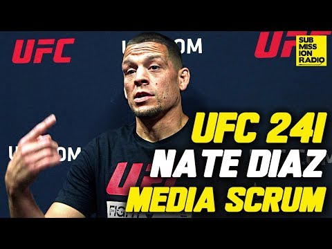"""UFC 241: Nate Diaz Shuts Down Anthony Pettis' Accusations of """"Jealousy"""""""