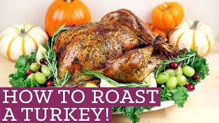 How To Cook A Roast Turkey! Thanksgiving Made Easy For Beginners - Mind Over Munch Episode 35