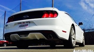 SOUND: 2016 Ford Mustang GT Fastback 5.0L V8 Exhaust /Start Up /Short Drive