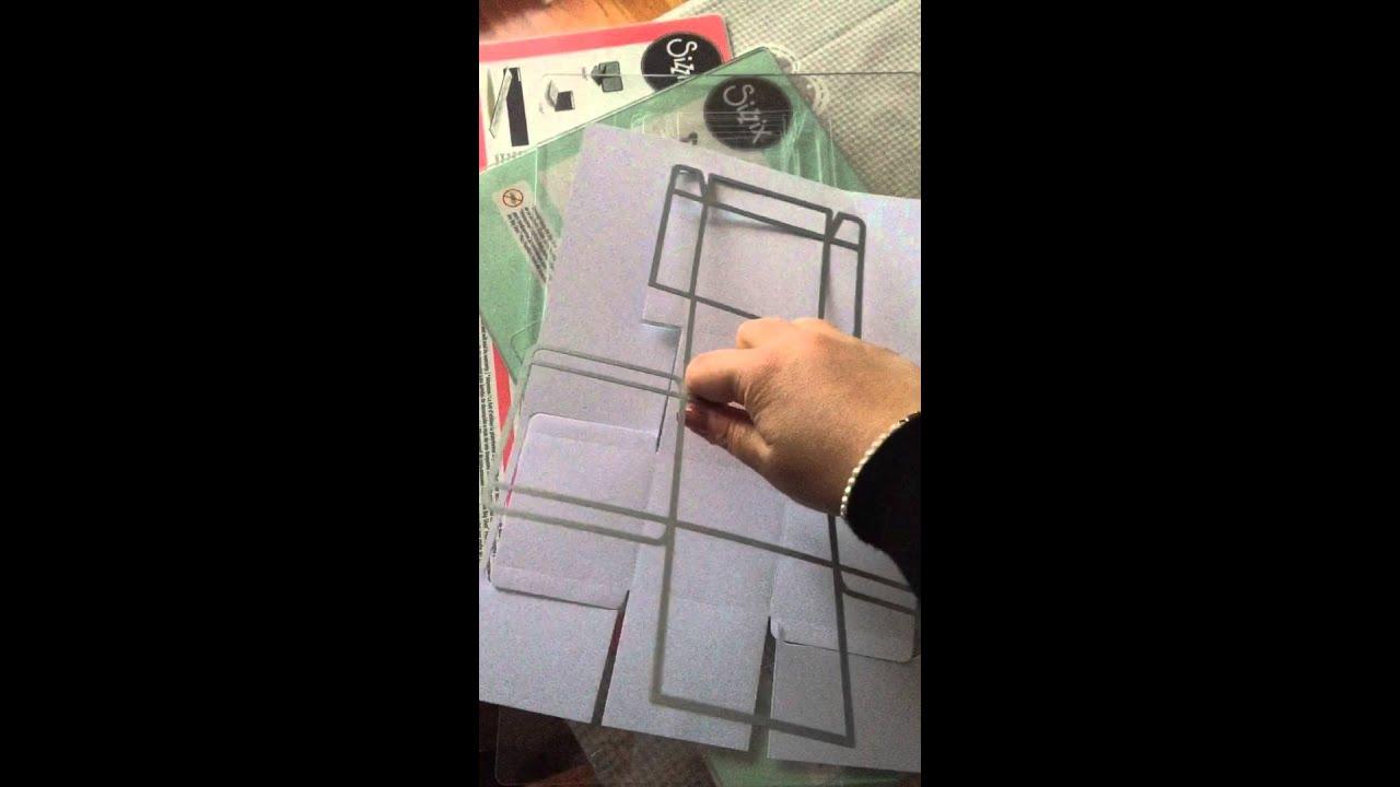 spesso Tutorial big shot scatoline Frozen e scatoline portaconfetti  ON21