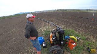Tarım Vlog #29    Babamla yağmurlama çalıştırıyoruz
