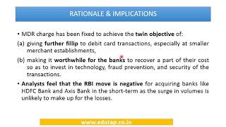 RBI Notification- Merchant Discount Rate and Interest Subvention Scheme