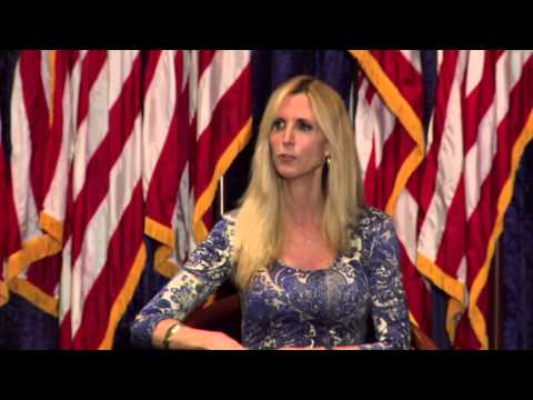 Ann Coulter at the Nixon Library