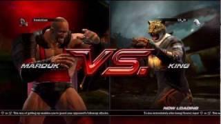 Tekken 6 Marduk vs King Player Matches #1 Played on 5/30/11