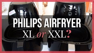Philips Airfryer XL or XXL? - Comparison (English) - See Prices in Video Description