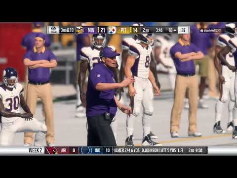 #3 Michael Mills (Steelers) VS #5 Bud Drake (Vikings) - League