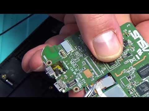 Замена разъёма Micro USB на ASUS Fonepad 7 (FE170CG) K012