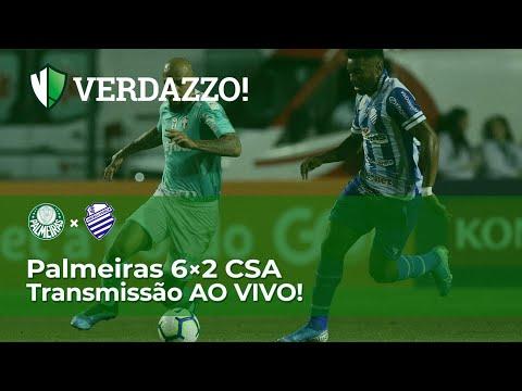 Palmeiras X CSA - Brasileirão 2019 - TRANSMISSÃO AO VIVO!