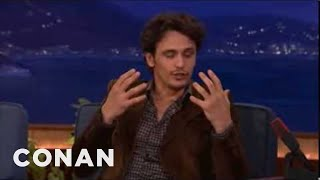 Conan Has The BEST Reaction To James Franco's Sex Tape Disaster