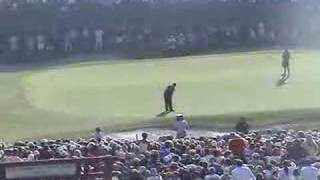 Tiger Woods Birdies 18 at 2008 US Open - Rare Home Video