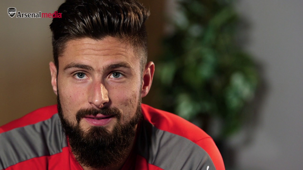 Olivier giroud 39 it was always arsenal 39 youtube for Olivier giroud squadre attuali
