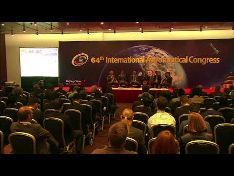 "IAC 2013 Beijing - Plenary 3, ""Heads of Industry and the Next Generation"""