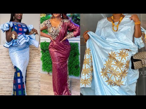 Latest Bazin Richie Senegalese Fashion Women's Clothes And Designs || 2021 African Fashion Styles
