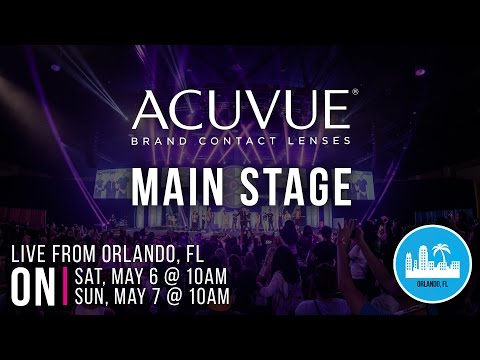 Sat. ACUVUE® Brand Contact Lenses Main Stage