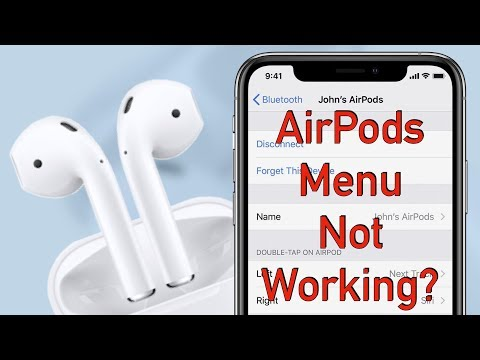 Can't Rename Your AirPods or Access the AirPods Menu/Settings? (How to fix this issue)!