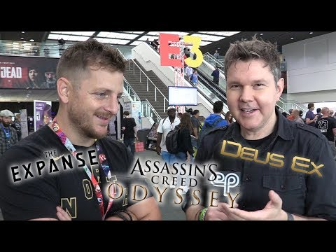 Elias Toufexis on Assassin's Creed Odyssey, The Expanse, and More!  Electric Playground